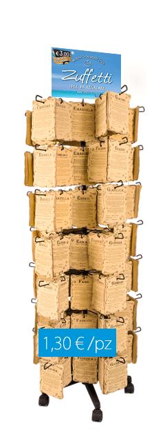 Espositore pergamene in cuoio con nomi