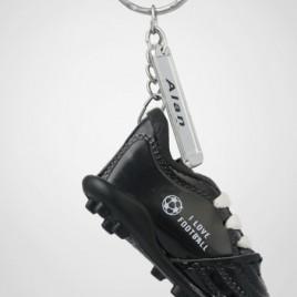 Portachiavi scarpa da calcio 20 pz Nero