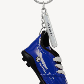 Portachiavi scarpa da calcio 20 pz Blu