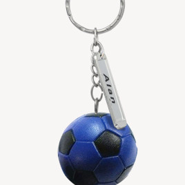 Portachiavi calcio 20 pz Blu